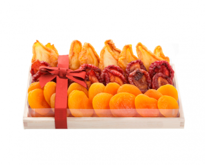Oblong Dried Fruit Wooden