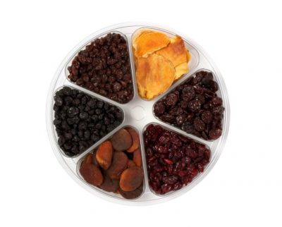 Organic Dried Fruit Gift Tray