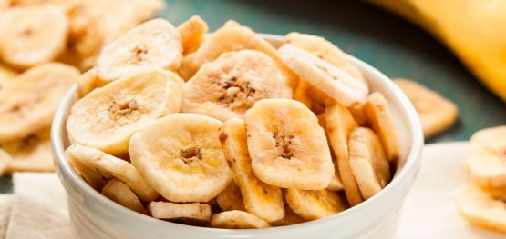 Organic Dried banana chips